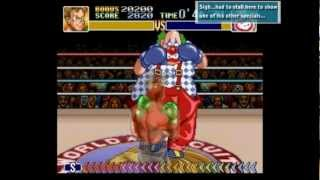 Super Punch Out!! Perfect/Dizzy Run - Mad Clown
