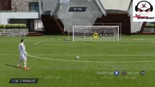 How To Score Rabona Free Kicks FIFA 15 [TUTORIAL]