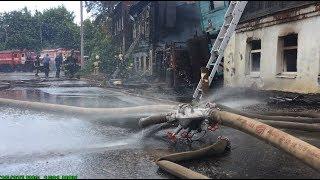 Пожар на улице Урицкого. Поджог или безалаберность? Видео