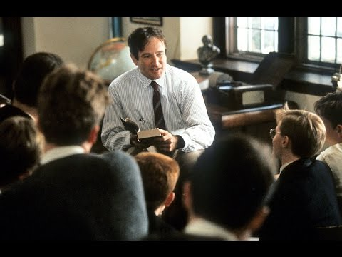 You May Contribute A Verse ~ Robin Williams (Dead Poets Society, 1989)