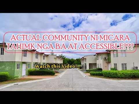 ACTUAL COMMUNITY TOUR- MICARA ESTATES TANZA CAVITE