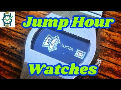 Jump Hour Watches