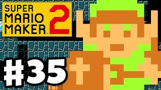 Play as Link! Version 2.0.0 Free DLC Update! - Super Mario Maker 2 - Gameplay Walkthrough Part 35