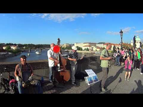 J.K.Novak & Bridge Band on Charles Bridge 2016