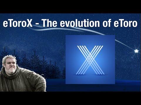 eToroX – The Next Evolution of eToro! (Crypto Exchange, Wallet, and Tokenization)