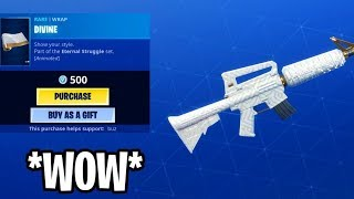 "Fortnite Battle Royale ""ITEM SHOP GIFTING"" FAKE CRY ON EMM 😭"