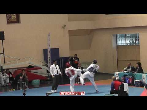 63kg Erbil S. Yılmaz vs Emircan Turan (2017 Turkish Senyor TKD Championships)