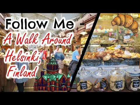 FOLLOW ME - A WALK AROUND HELSINKI, Finland