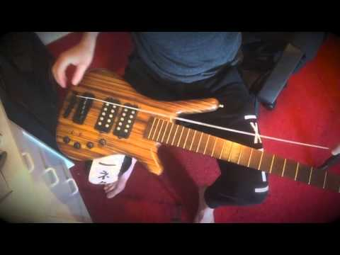 how to re-string your bass (5 string)