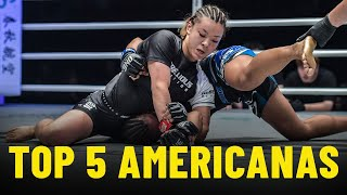Top 5 Americana Submissions In ONE Championship