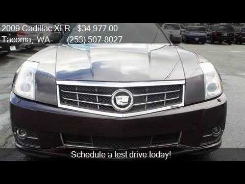 2009 cadillac xlr platinum 2dr convertible for sale in tacom youtube. Black Bedroom Furniture Sets. Home Design Ideas