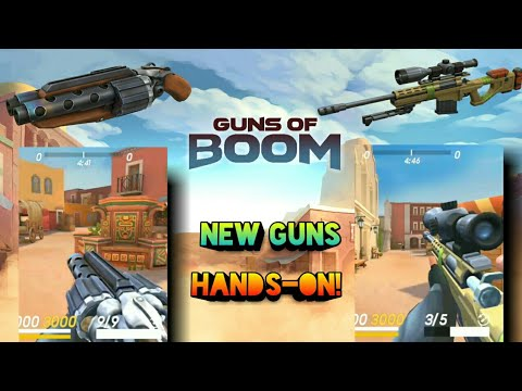 New guns! Barracuda and Trejo ace | Hands-on || Guns Of Boom