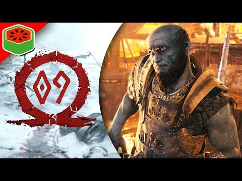 PART 9 - FAFNIR'S TREASURE CAVE | God of War Let's Play