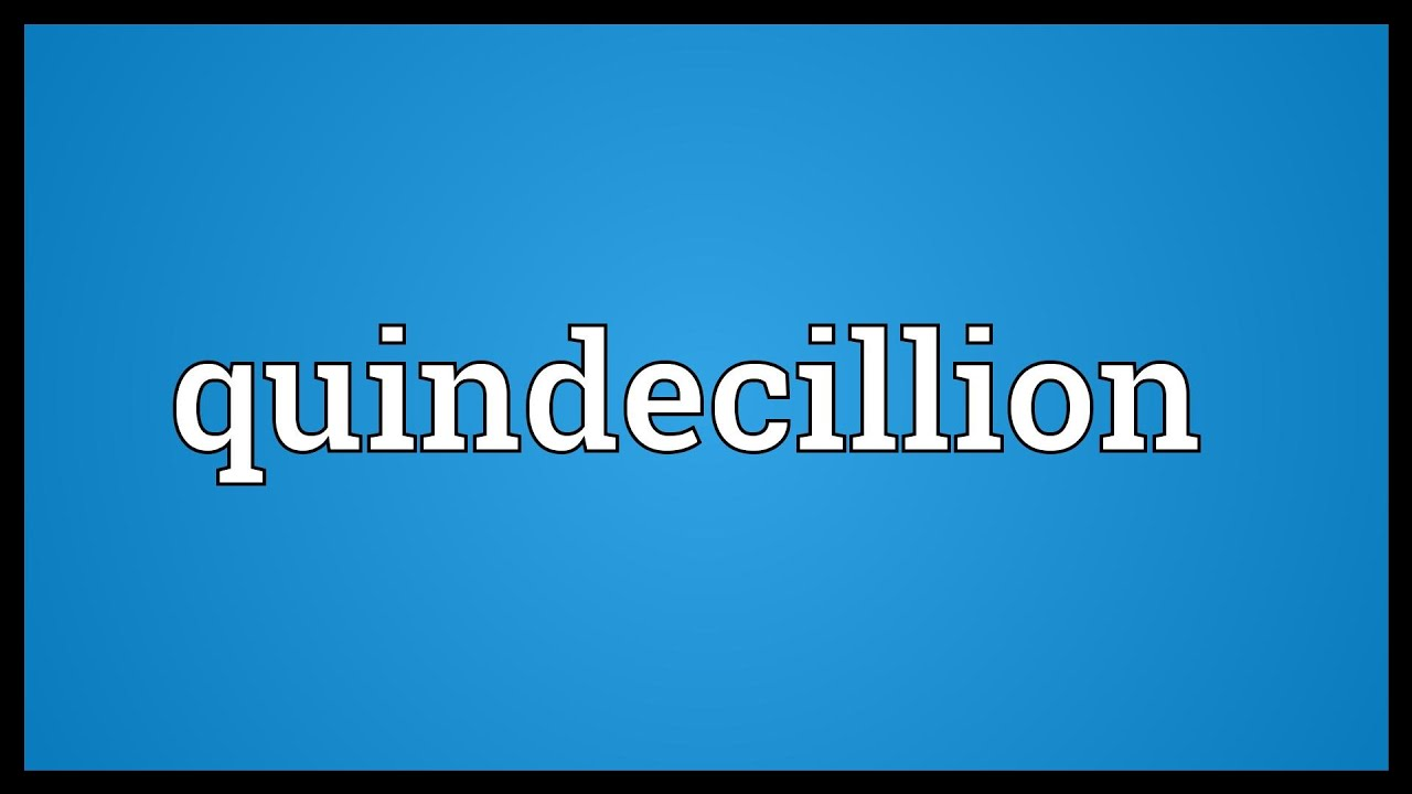 Centillion Meaning | Pics | Download |