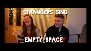 STRANGERS ATTEMPT TO DUET EMPTY SPACE... - James Arthur Cover Video