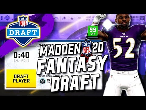 Madden 20 Fantasy Draft! How To Fantasy Draft In Franchise