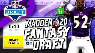 Madden 20 Fantasy Draft! How To Fantasy Draft In Franchise