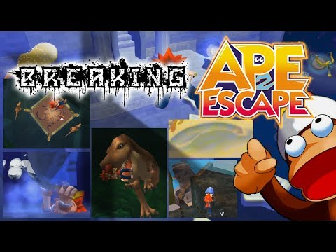 Ape Escape 2 (Single) Wrecking New Game+