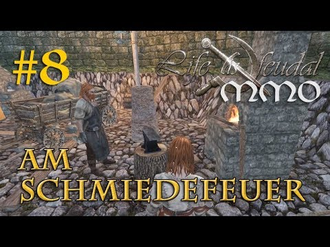 Let's Play Life is Feudal MMO #8: Am Schmiedefeuer – Wanda u