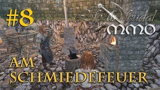 Let's Play Life is Feudal MMO #8: Am Schmiedefeuer – Wanda und die Walliser (Open Beta)