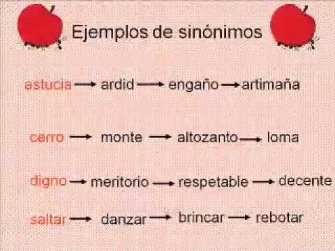 Sinónimos, Antónimos, Parónimos - YouTube - photo#12