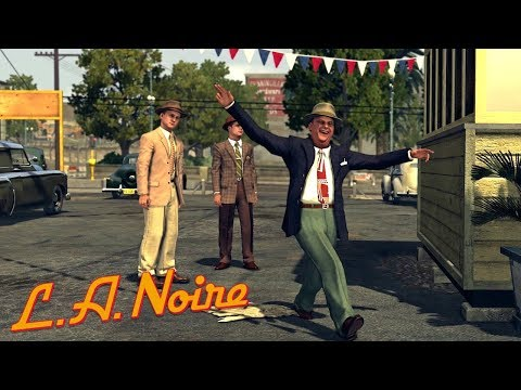 LA Noire Remastered - Case #8 - A Slip of the Tongue (5 Stars)