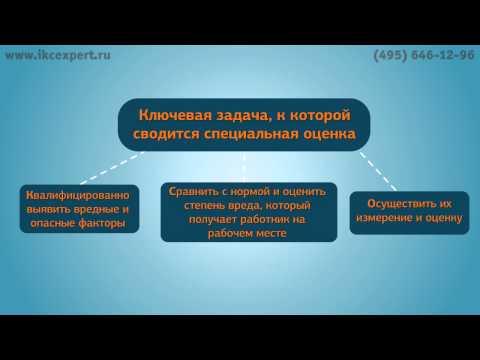 СПЕЦИАЛЬНАЯ ОЦЕНКА УСЛОВИЙ ТРУДА (СОУТ) Москва 2017