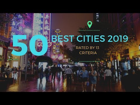 Top 50 Cities in the World 2018 (to Visit As A Tourist)