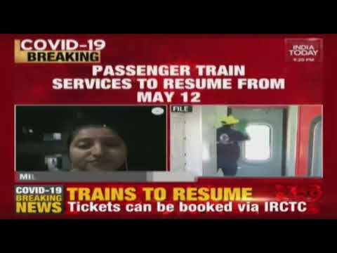 Indian Railway To Run 15 Pairs Of Passenger Trains From Delh