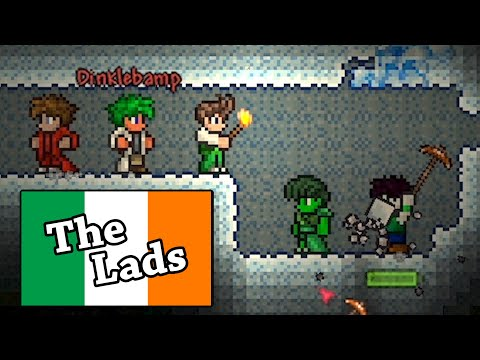 We Gathered Every Irish Youtuber To Play Terraria Ft. CallMeKevin, Jacksepticeye, Nogla & Terroriser