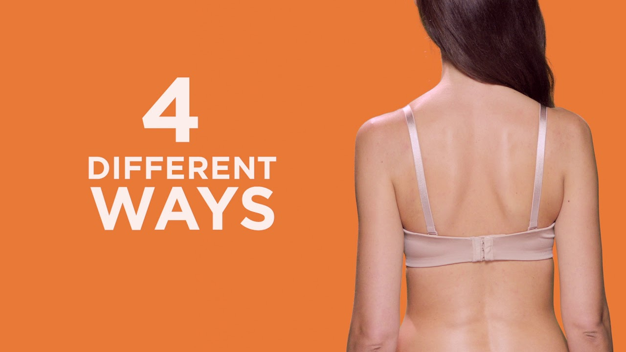 3a9ea6d821 Simply Perfect by Warner s Cushioned Underwire Strapless Bra - YouTube