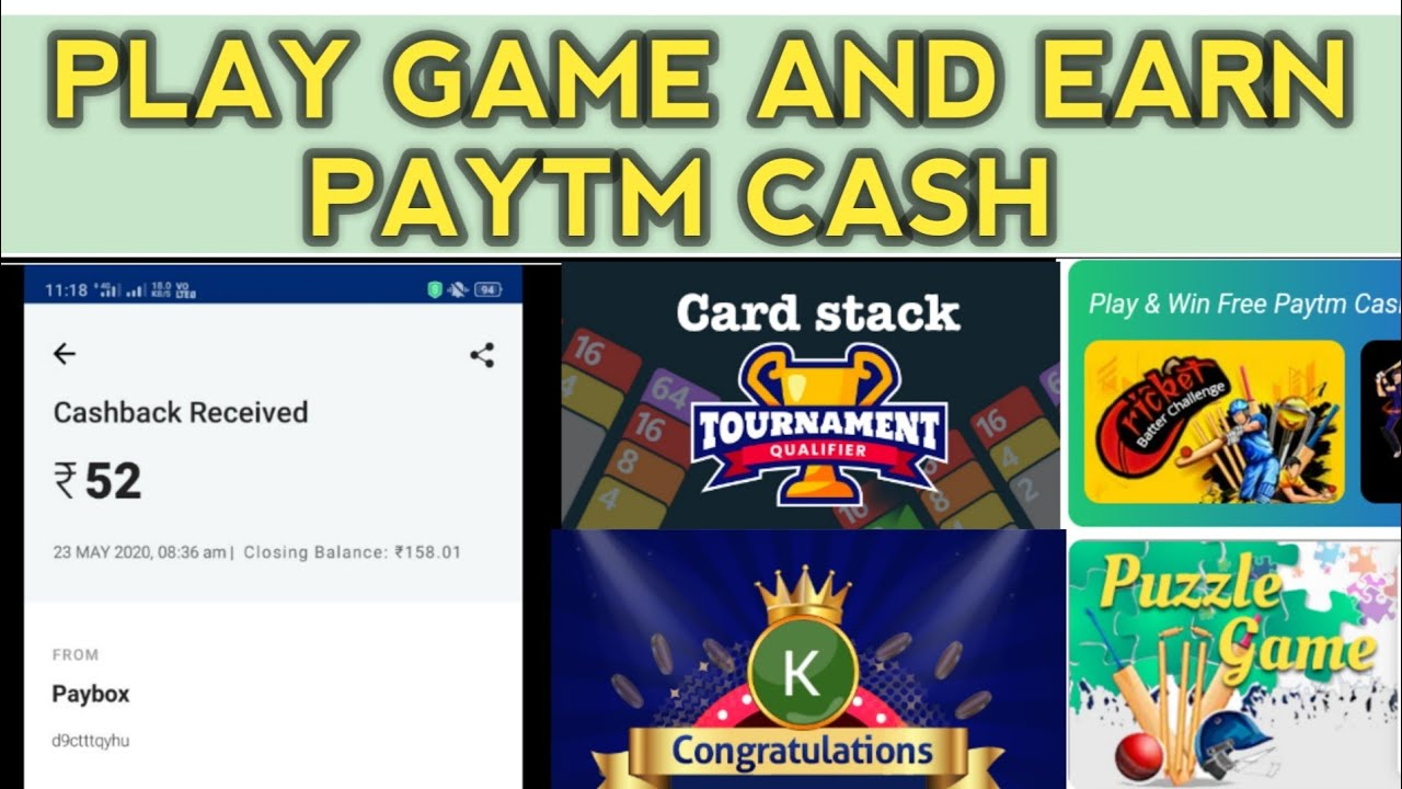Games that pay real cash paypal