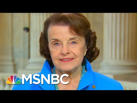 Sen. Feinstein: President Trump 'Can't Get Over' Jeff Sessions Recusal | Andrea Mitchell | MSNBC