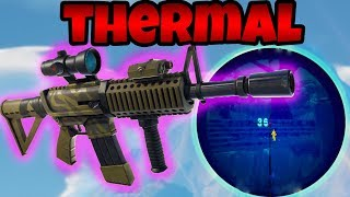 SO spielt man die neue THERMAL WAFFE! | Fortnite Battle Royale