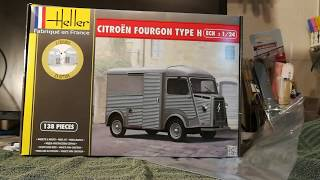 Kit Review Citroen Fourgon Type H from Heller