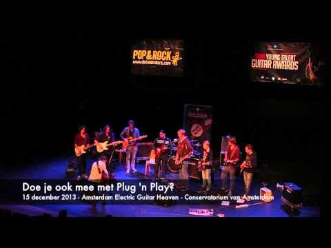 Doe mee met Plug 'n Play 2013 - Amsterdam Electric Guitar Heaven 15-12-2013