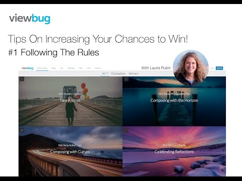01_Tips On Increasing Your Chances to Win a Photo Contest: Follow the Rules