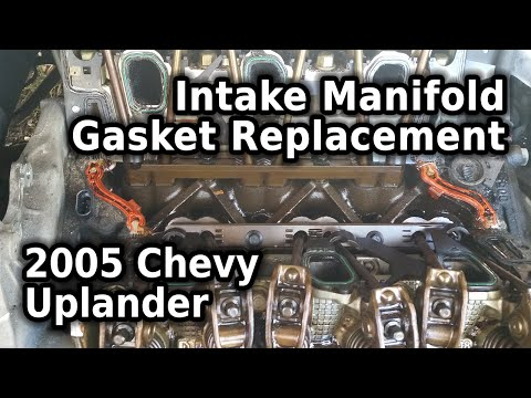 Fix It Right! :: Intake Manifold Gaskets - 2005 Chevy Uplander 3 5L :: Part ONE