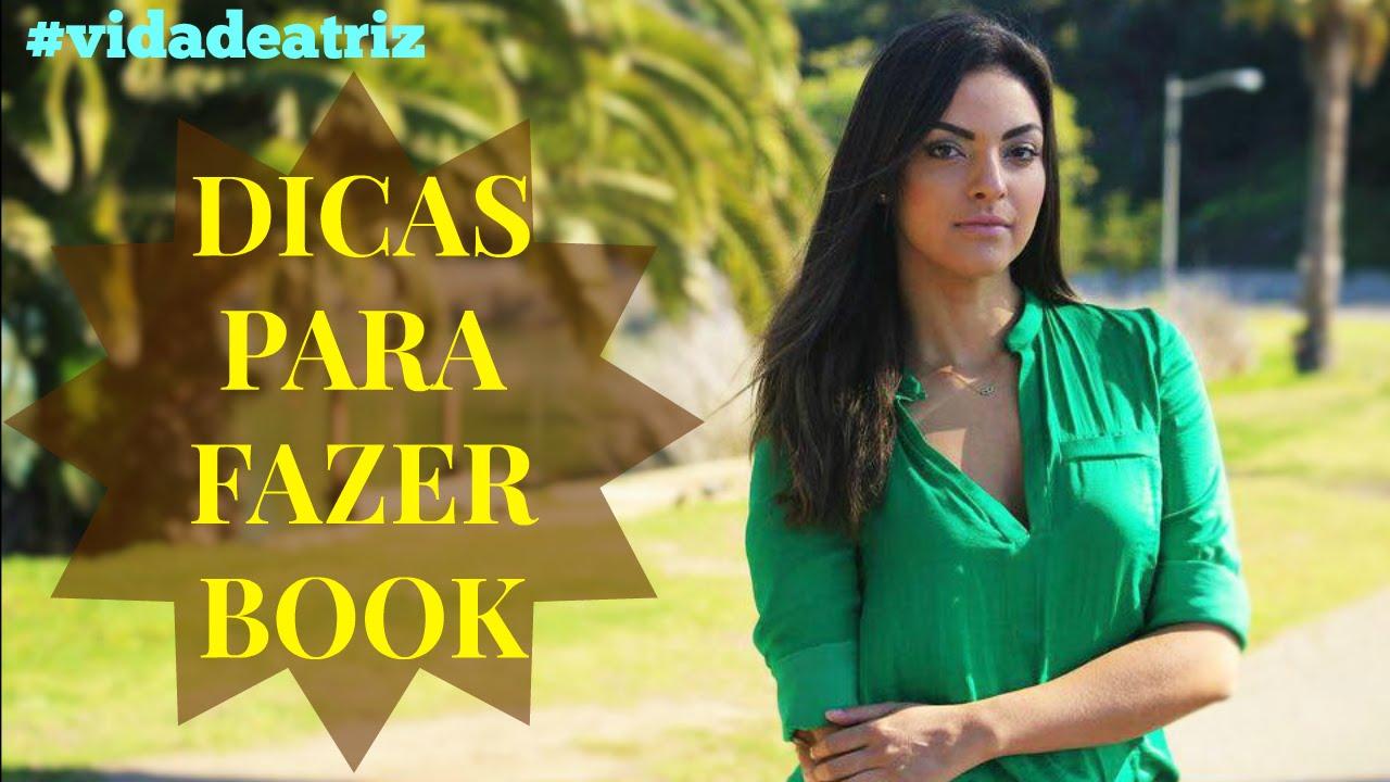 Excepcional vidadeatriz - DICAS PARA FAZER BOOK - YouTube OR39