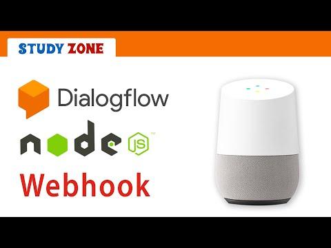 DialogFlow (API.AI) Chatbot Tutorial - Webhook, NodeJS - Source code on git