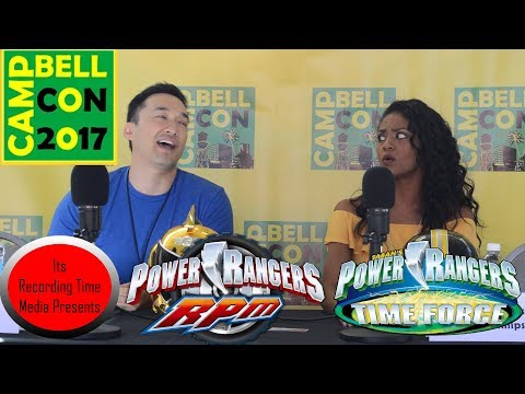 Campbell Con 2017: Power Rangers Panel
