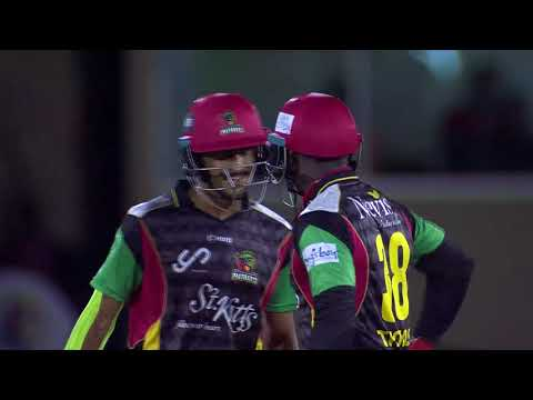CPL T20 2017 | MATCH HIGHLIGHTS | TRINBAGO KNIGHT RIDERS VS ST KITTS & NEVIS PATRIOTS | HERO CPL2017
