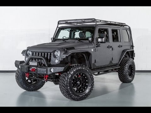 2015 jeep wrangler unlimited rubicon kevlar coated lifted custom leather youtube. Black Bedroom Furniture Sets. Home Design Ideas