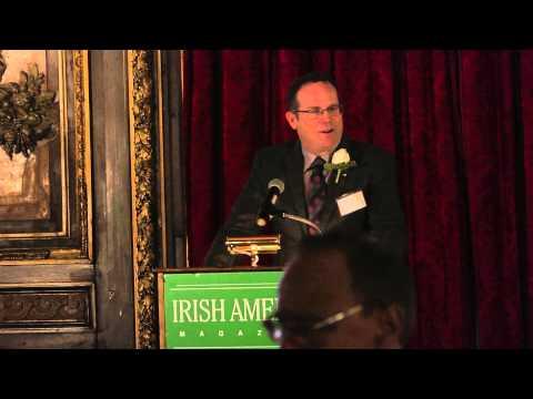 Shannon Deegan delivers Irish America Business 100 keynote speech