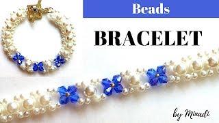 Bracelet design for DIY Bracelet.  Easy beading tutorial for beginners