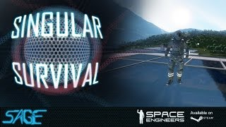 Space Engineers, Singular Survival, Ep 1