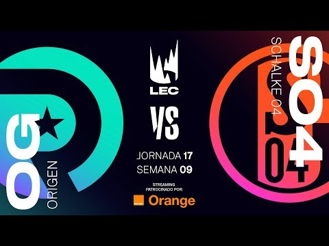 ORIGEN VS SCHALKE 04 | LEC | Spring Split [2019] League of Legends thumbnail