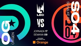 ORIGEN VS SCHALKE 04 | LEC | Spring Split [2019] League of Legends
