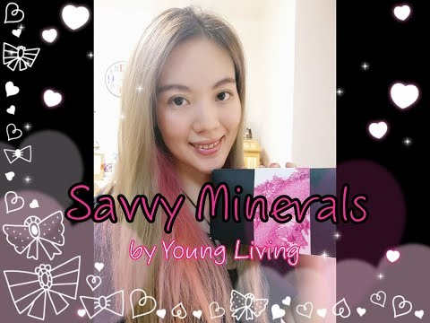UNBOXING Savvy Minerals by Young Living