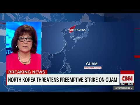 North Korea threatens preemptive strike on Guam